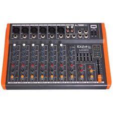 Ibiza Performance & DJ Mixers Not Rack Mountable