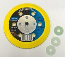 "NORTON 6"" DISC BACK UP PAD 06146 15,000 RPM"