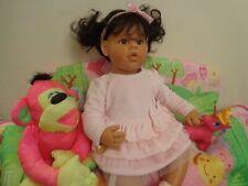 "ADORABLE REVA SCHICK Lee Middleton Doll 21"" Girl ""Baby & Me"" GORGEOUS!!!"