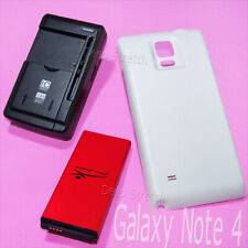 For Samsung Galaxy Note 4 11900mAh Extended Battery Kit Battery+Case+USB Charger