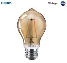 PHILIPS 461665 4.5A19b/LEDFilament/822/CL-A/DIM 120v A19b/E26 2200K (6-Pack)