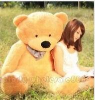 Giant 47'' Big Cute Brown Plush Teddy Bear 120CM Plush Toy Doll Animal Kid Gift