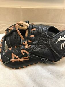 "Mizuno GXF-100D 12"" Youth Baseball Softball First Base Mitt Left Hand Throw"