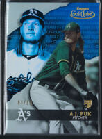 AJ PUK 2020 TOPPS GOLD LABEL CLASS 2 BLUE PARALLEL ROOKIE RC #67 #/99 OAKLAND A