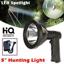1000W LED Cree 12v Rechargeable Spotlight Handheld Hunting Camp Lamp Spot Light