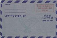 LUFTPOST  FALTBRIEF  -  Mi. Nr:  LF 2 b III  -  in  postfrischer  TOP  Erhaltung
