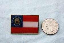 WILLABEE & WARD STATE FLAG PIN GEORGIA
