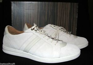 FOSSIL MAZZA SUEDE LEATHER IVORY STONE SNEAKERS,TENNIS MEN SHOES-10,10.5,11,11.5