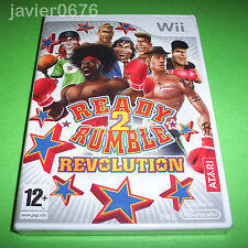Nintendo Wii PAL version Ready 2 Rumble Revolution