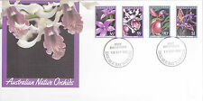 1986 Australian Native Orchids FDC - Double Bay NSW 2028 PMK
