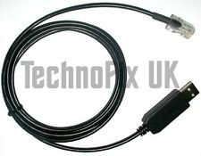 USB programming cable for Philips & Simoco PRM80 & SRM9000 series radios