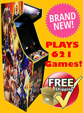 Capcom/Street Fighter Themed 621 Games Upright Arcade Cabinet ARCADE OF THE YEAR
