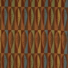 Arc/com Panache Spice  Modern Contemporary tiny surf boards Upholstery Fabric