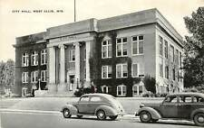 Wisconsin, WI, West Allis, City Hall 1940's Postcard