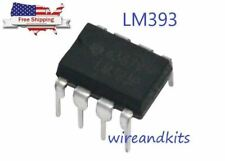 10 x LM393P LM393 LOW POWER DUAL VOLTAGE COMPARATOR IC - **USA Seller**