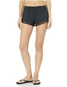 Billabong Women's Meshin with You Volley Short, Black Sands, Size Large bK6e