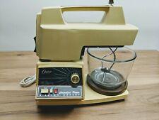Vintage Oster Regency Kitchen Center 969-04A 12 Speed Blender Glass Bowl Tested