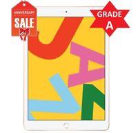 Apple iPad 7th Gen. 32GB, Wi-Fi + 4G (Unlocked), 10.2 in - Gold - GRADE A