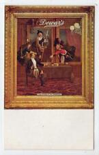 DEWAR'S WHISKY: Tuck Celebrated Advertising poster postcard (C34222)