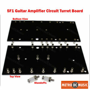 5F1 Tweed Champ circuit turret board with standoffs Fender Free Ship USA NEW