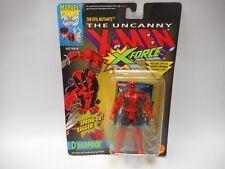 Uncanny X-Men Deadpool X-Force Action Figure Spring Out Dagger ToyBiz 1992