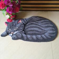 Cat Non-Slip Door Floor Rug Mat Kitchen Bathroom Cartoon Carpet Room Mat