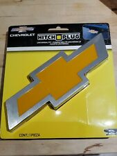 "Chevrolet Hitch Plug Trailer Hitch Cover For 1.25"" And 2"" Hitch. Chevy Bowtie"