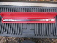 Proto 6013C Micro Adjustible Torque Wrench 50-250 ft lb 1/2 in fixed head