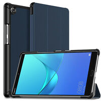 """Wake/Sleep Stand Case Slim Cover For Huawei MediaPad M5 8.4"""" Android Tablet"""