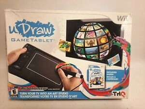 Nintendo Wii uDraw Game Tablet for Drawing Game - Black Tablet- Tablet Only
