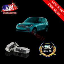 Courtesy LED Door Lights Projector Gold Logo Easy Installation For Land Rover