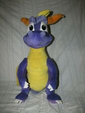 "SPYRO The Dragon Plush Stuffed Animal Large 24"" Universal Play by Play 2001"