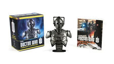 Doctor Who Cyberman Bust and Illustrated Book / Dr. Who cyber man