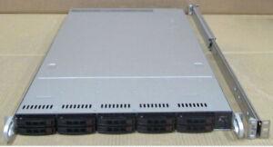 "Supermicro CSE-116 10x 2.5"" Bay 2x CPU 16x DIMM 2x PSU X9DRW-CTF31 1U CTO Server"