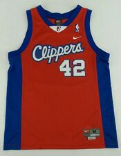 Vintage Nike Los Angeles Clippers Elton Brand Basketball Jersey Size Youth M