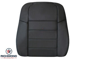 08-10 Dodge Charger Daytona RT -Driver Side Lean Back Leather Seat Cover Dk Gray