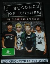 5 SECONDS OF SUMMER - UP CLOSE AND PERSONAL DVD REGION 4
