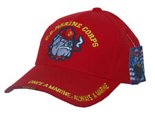 HA-01- US-MARINE-CORP-RED-WITH-BULL-DOG-CAP