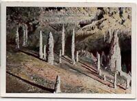 Caves Of Damenora Hohlen von  1930s Trade Ad Card
