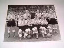 Sunderland FC 1954 team original press photo ??? Len Shackleton Stan Anderson