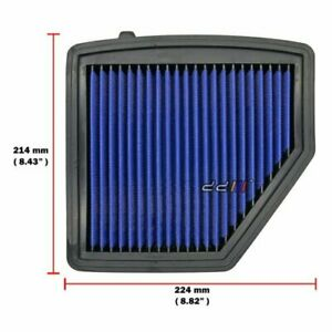 Works High Flow Engine Air Filter Kit For Honda HR-V HRV 1.8L R18A R18Z 2014-ON
