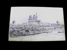 DESSINS (5) DU 19ème SIÈCLE - MINES DE PLOMB - ECOLE FRANÇAISE - CIRCA 1850 -D6