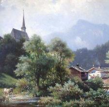 Sckell von Ludwig 1833-1912 München Pasing - Ansicht bei GARMISCH-PARTENKIRCHEN