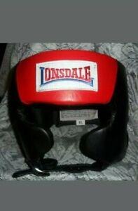 lonsdale Super Pro Open Face Headgear L27497BXL Sz XL