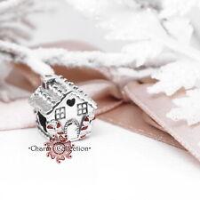 Pandora, NEW, Christmas Gingerbread House, Bracelet S925 Charm, 798471C01