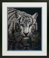 Dimensions - Counted Cross Stitch Kit - In To The Light - White Tiger D70-35289