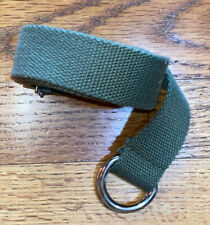 New listing Boys Adjustable Cloth Belt Army Green 33.5� Long One Size
