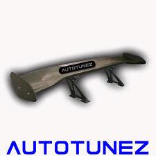 "Tunez 58"" Carbon Fiber Universal Black GT Wing Rear Spoiler Type B Drift Tunezup"
