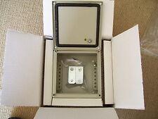 Nuovi componenti RS acciaio temperato scatola morsetto 150 x 150 x 88mm IP66 rating Guida DIN