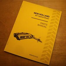 New Holland 467 Haybine Mower Conditioner Parts Catalog Book List Manual Nh